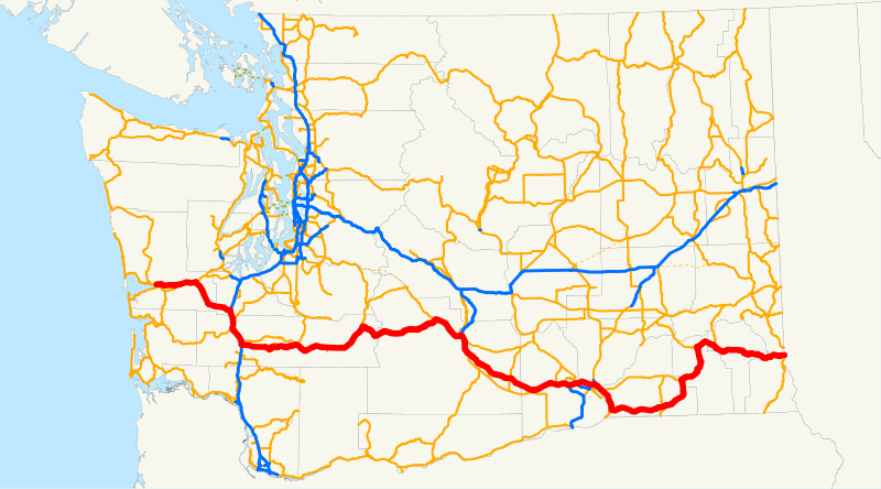 At Some Point During This Past August S Family Vacation I Got To Looking At A Map Of Washington Mostly To Try To Figure Out Where We Were Supposed To Be